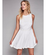 Free People Women's White Birds Of A Feather Dress 8 - $1.478,09 MXN