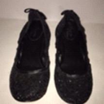Maria Pova Cole Haan Air Soles Ballet Flats Back Sparkle Size 6.5 - $54.45