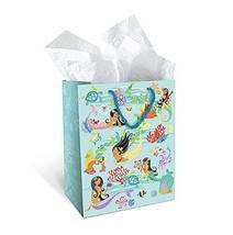 """Hawaiian Island Hula Honey Mermaid Heavy Paper Gift Bag (Medium 8"""" W x 1... - $14.44 CAD"""