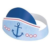 Nautical 1st Birthday 6 Ct Party Hats - $4.25 CAD