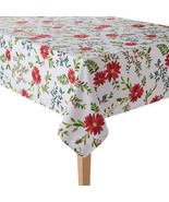 New Food Network Stain-Resistant Tablecloth Multi-Color Round/Oblong - $34.64+