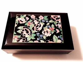 Otagiri Floral Garden Musical Jewelry Box Plays... - $24.74
