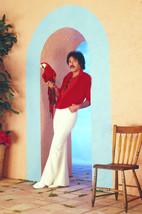 Tony Orlando full length pose with parrott 24x18 Poster - $23.99