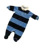 Ralph Lauren stripe sleeper SIZE 3 MONTHS - $12.82