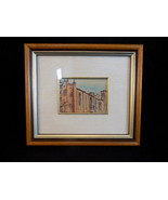 VALREDA AST Hand Painted SIlver on Plate Framed LIMITED 925 of 1000 Picture - $28.70