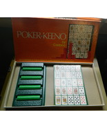 Poker- Keeno by Cadaco 1971 Vintage Game-Complete - $18.00