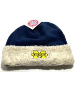 University of Michigan Wolverines Vintage NCAA Cuffed Fleece Hat (New) B... - $19.99