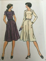 Vogue Sewing Pattern 9235 Size 14 Vintage Dress Uncut 1970s Retro Sew Pr... - $16.99