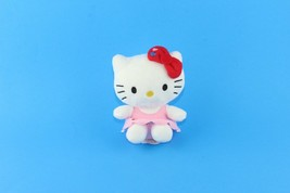 "Hello Kitty Sanrio 5"" Inch Plush Toy Pink Red Stuffed Toy By Megatoys - $13.86"