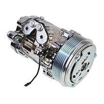 A-Team Performance HC5005BK A/C Compressor Sanden SD-7 Type 6-Groove Serpentine  image 2