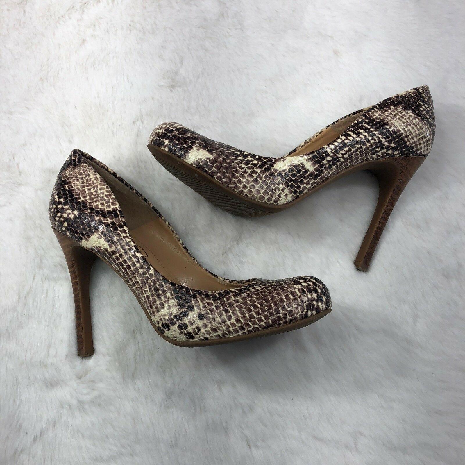 Jessica Simpson Snake skin High Heel