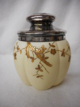 RARE Mt. Washington Crown Milano Gold Decorated Biscuit Jar Humidor ? L@@K - $708.35
