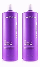 Pravana Perfect Blonde Purple Toning Conditioner 33.8oz (PACK of 2)NEW PACKAGE!  - $58.45
