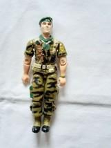 VTG G.I. JOE Lt. Falcon 1987 Action Figure / Hasbro Toy / U.S Green Bere... - $22.29
