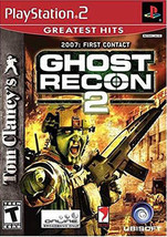 Tom Clancy's Ghost Recon 2 (Sony PlayStation 2, 2004) - $3.30
