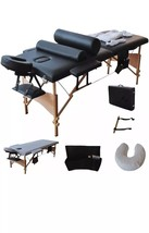 "84""L Massage Table Portable Facial SPA Bed W/Sheet+Cradle Cover+2 Pillow... - $81.09"