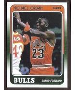 MICHAEL JORDAN Card RP #17 Bulls 1988 F Free Shipping - $2.95