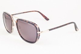 Tom Ford RICCARDO 340 28N Havana Gold / Brown Sunglasses FT340 28N 56mm - $204.82