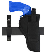 "New Barsony 360Carry 12 Option OWB IWB Cross Draw Holster for 4"" Revolvers - $28.99"