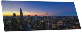 "Pingo World 0705QTZC6XM ""Charlotte Sunset Skyline Panoramic"" Gallery Wra... - $158.35"