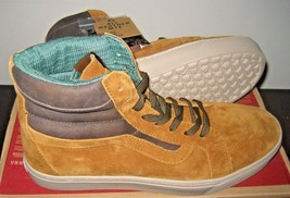 Vans Womens Sk8-Hi MTE Cup Hummus Brown Suede All Weather Boots Size 9.5 NWT - $51.46
