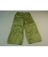 Green Dog Boys' Pants Nylon Polyester Male Kids 3T Greens Solid - $9.62