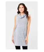 NEW NWT Ripe Maternity Women's Maternity Melange Tunic, Ash,Gray Large S... - $47.60