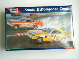 FACTORY SEALED REVELL Snake and Mongoose Combo Kit #85-6858 - $118.79