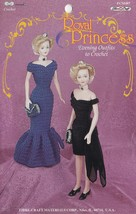 Royal Princess Evening Outfits, Fibre Craft Crochet Pattern Booklet FCM487 RARE - $7.95