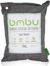 1000g Large Bamboo Charcoal Air Purifier Bag - Deodorizer and Air Freshe... - €22,72 EUR
