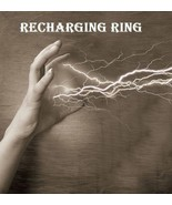 SPELL RECHARGE RING BLACK VOODOO MAGICK WORKS ON ANY TALISMAN RITUAL ENCHANTED - $56.00