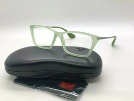 New ray-ban optical rb7022 5366 lime green eyeglasses frame 52-14-140mm ... - $67.65