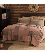 Beautiful True Patchwork Holiday Clement Collection Quilt Shams Pillows ... - $23.95+