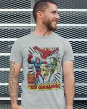 The Invaders Kid Commandos T-shirt vintage 1970's marvel comics silver age tee image 3