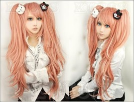 Danganronpa Dangan-Ronpa Junko Enoshima Cosplay Wig Cap Hairnet Hairclip... - $8.50+