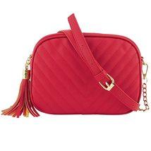 MOLAVE Handbags Fashion Women Solid Color Zipper Tassel Clutch Vintage L... - $14.91+