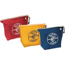 Klein Tools Assorted Canvas Zipper Bags - 3 Pack - $66.36