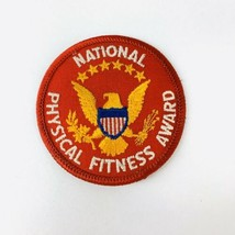 """Vintage BSA Boy Scouts of America National Physical Fitness Award Patch 3"""" - $19.00"""