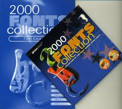 2000 font CD+Manual TrueType fonts (.ttf/.ttc) Scalable Any Windows Systems - $16.26