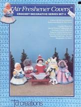 Air Freshener Covers Set 4 Crochet TD Creations Pattern Booklet 5 Designs - $2.67