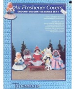 Air Freshener Covers Set 4 Crochet TD Creations Pattern Booklet 5 Designs - $2.67