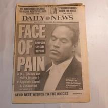 Daily News New York June 21 1994 OJ Simpson Trail Streisand FBI Mob Knic... - $39.99