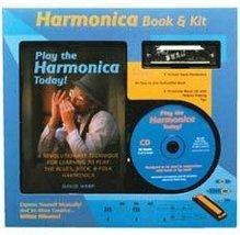 Harmonica Book & Kit [Paperback] David Harp - $18.00
