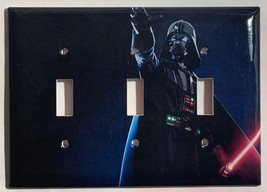 Star Wars Darth Vader Light Switch Power Outlet Wall Cover Plate Home Decor image 10