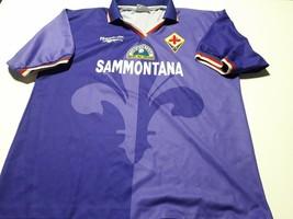 Vintage soccer jersey  fiorentina Italia Reebok brand  - $78.21