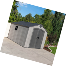 Lifetime Products 8x 12.5Resin Outdoor Storage Shed - $1,698.53
