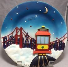 San Francisco souvenir 3d R & S Designs Collectors series hand painted p... - $8.46