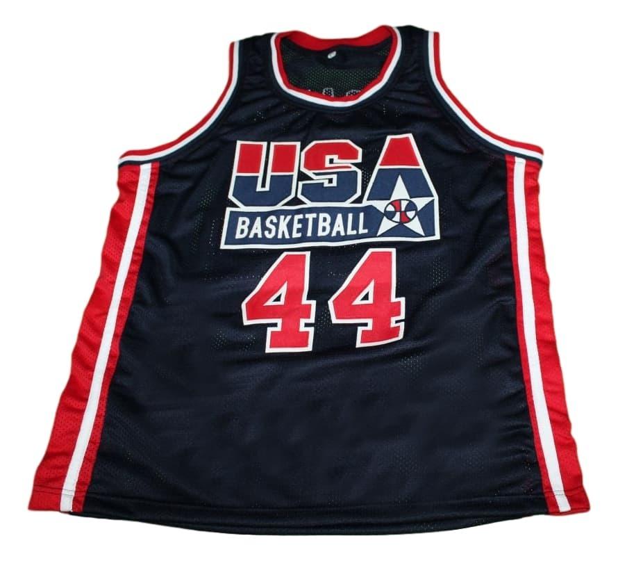 Barack Obama #44 Team USA New Men Basketball Jersey Navy Blue Any Size