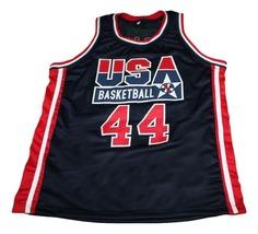 Barack Obama #44 Team USA New Men Basketball Jersey Navy Blue Any Size image 1
