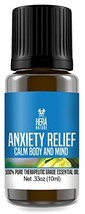 Anxiety Relief Essential Oil Blend - Pure & Natural Ingredients, Therapeutic Gra